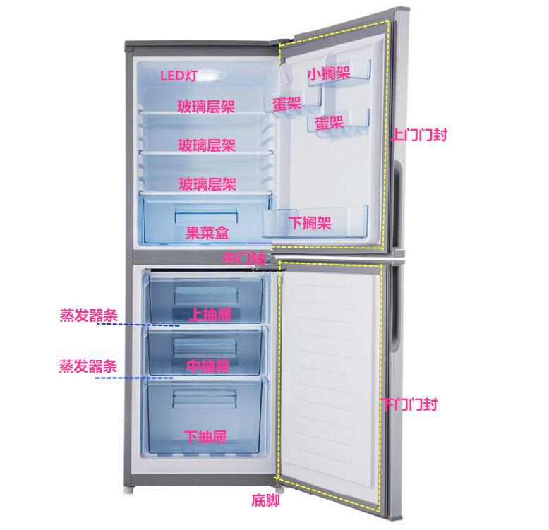 冰箱门搁架