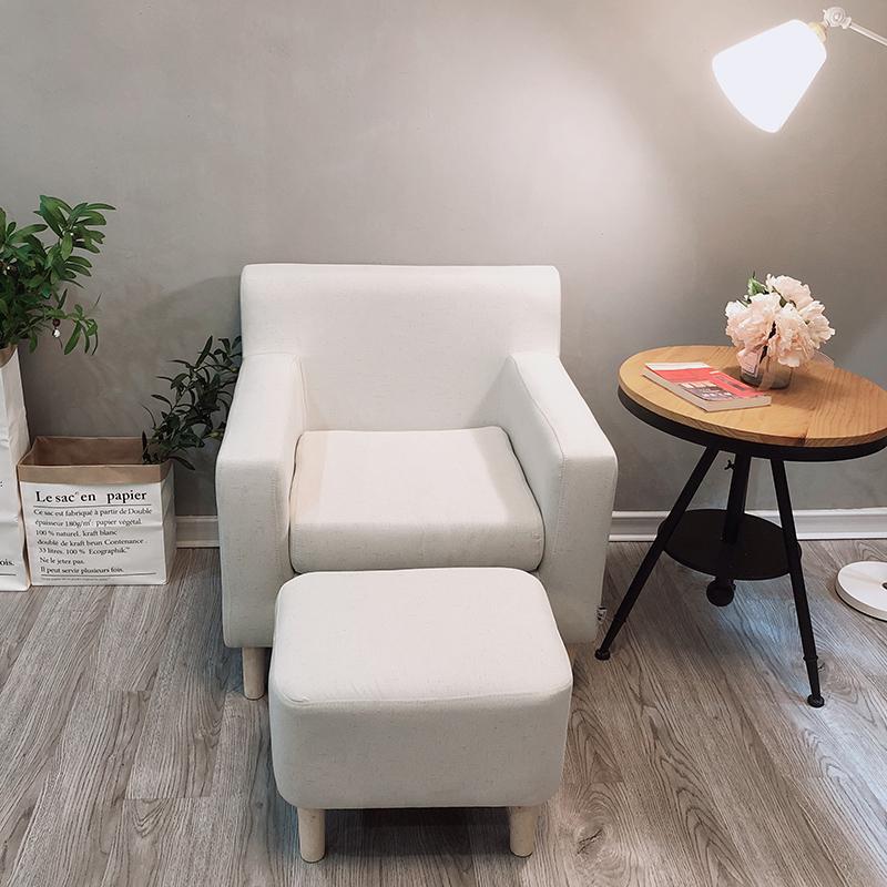 懒人单人沙发卧室房间小沙发小户型北欧迷你单个沙发简易小型沙发