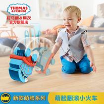托马斯和朋友之萌脸翻滚小火车DTP10 儿童早教玩具