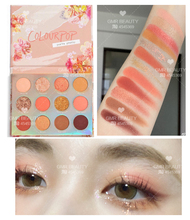 GMR Colourpop eye shadow Sweet Talk spring new product Limited coral plate Cara bubble