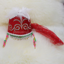 Xinjiang hat Uygur Kazakh dance hat national characteristics small flower hat hat