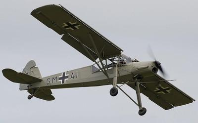 德国二战FI-156遥控轻木电动固定翼像真轻型联络飞机航模制作图纸