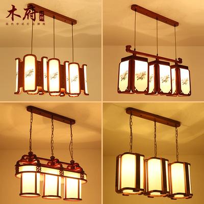 中式餐厅灯吊灯三头网店网址