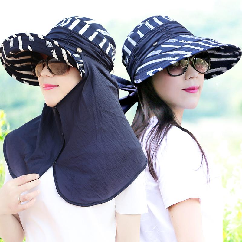 女士条纹帽子