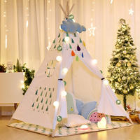 Children's small tent play house boy indoor baby toy house Indian girl princess house ins tent