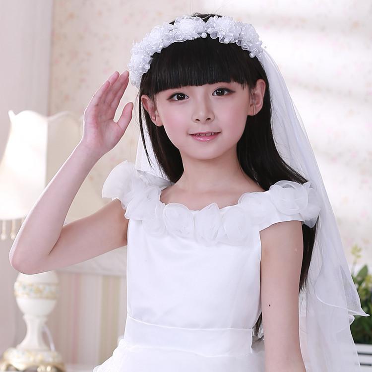 儿童婚纱礼服配饰
