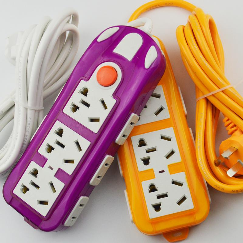 多功能电源插座家用多孔插排排插板带线接线板拖线板插线板长线延