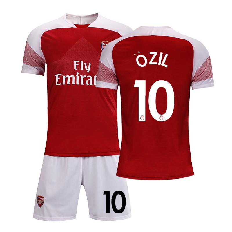阿森纳球衣18-19新赛季主场队服训练服定制足球服套装男成人儿童