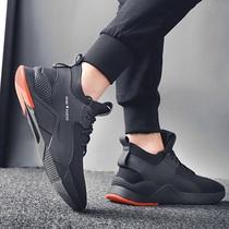 老北京布鞋男鞋夏季透气帆布鞋男士休闲鞋子男板鞋一脚蹬懒人鞋男