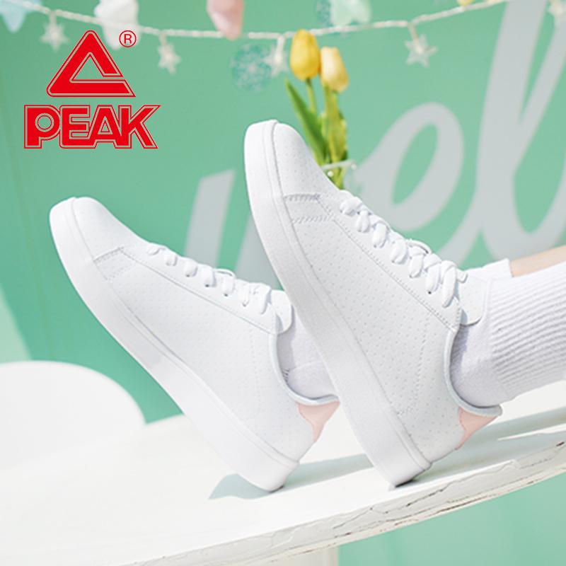 匹克休闲鞋女2019秋季新款韩版潮流时尚滑板鞋运动鞋低帮耐磨女鞋