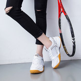 New pull back sneakers breathable non-slip Korean version of men and women couple shoes shoes tendon bottom badminton shoes 3089