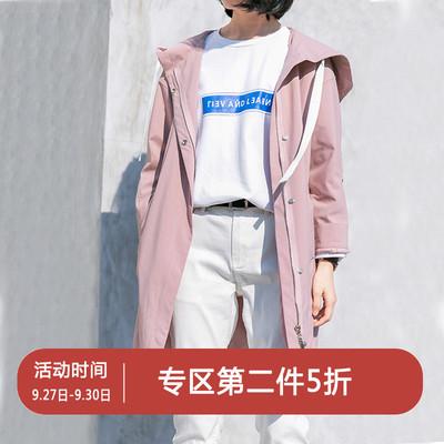 第二件5折CLOUDSPACE女装风衣女中长款韩版秋新款学院风外套F8241