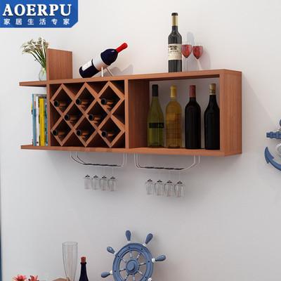 实木质墙上酒柜酒架摆件客厅置物架现代简约餐厅创意酒架壁挂家用使用感受