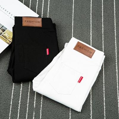 韩版百搭小脚裤外穿九分黑色铅笔打底裤女裤子夏薄款显瘦2018新款