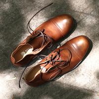 时尚英伦风马丁靴男士圆头真皮系带靴子男高帮休闲复古靴潮流皮鞋