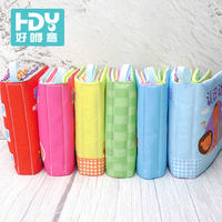 0-3 years old baby baby cloth book stereo tearing bad educational toys early education can bite books 6-12 months vibrato