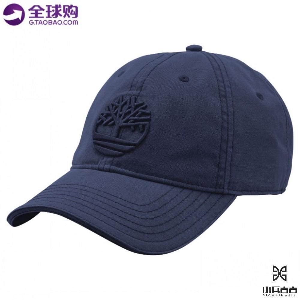 美国代购 Timberland/添柏岚 男士纯棉经典大树标刺绣棒球帽A16PS