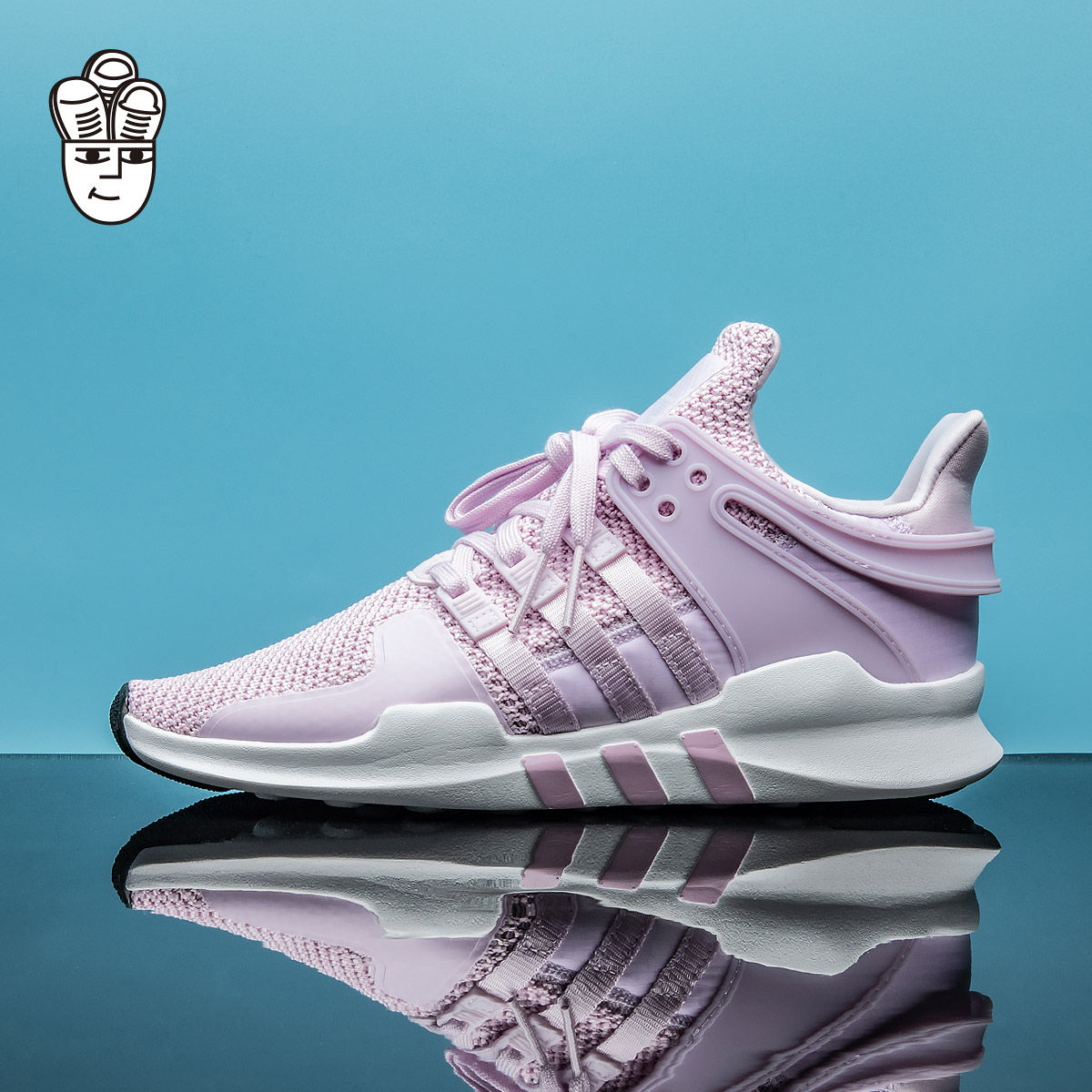 Adidas EQT Support ADV Snake 三叶草男鞋女鞋GS  跑步鞋 运动鞋