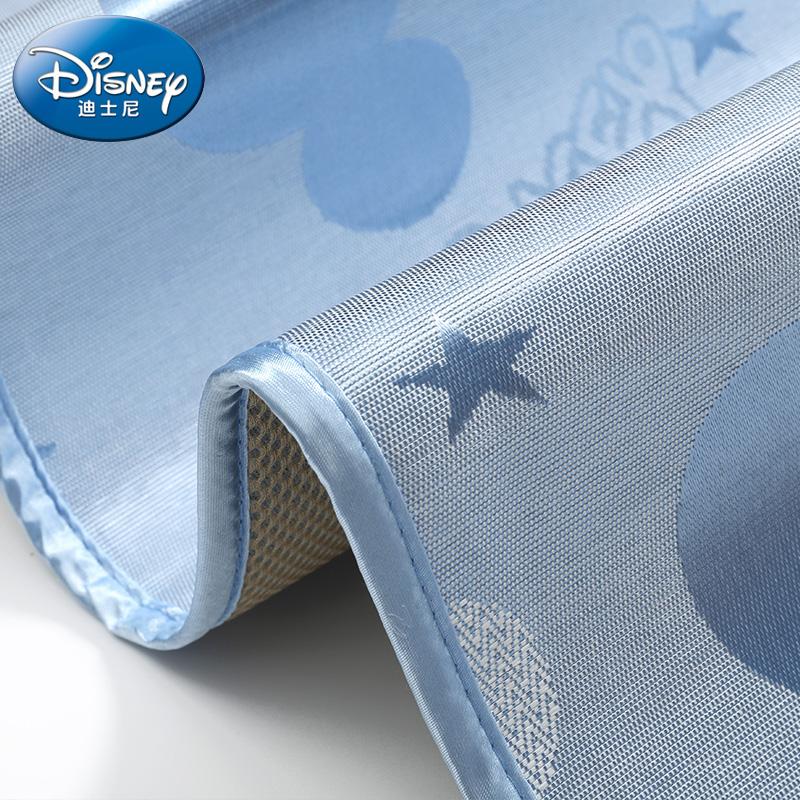 迪士尼婴儿凉席新生儿冰丝儿童床幼儿园席子夏季透气午睡宝宝凉席