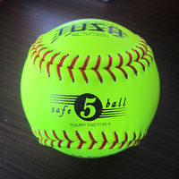 Standard 12-inch softball, durable and durable, suitable for baseball amateur training, hard / soft softball