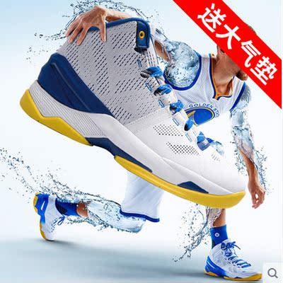 八哥秋季篮球鞋男高帮男鞋运动鞋男透气球鞋3库里2代耐磨减震战靴