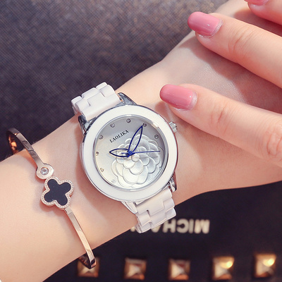 手表女士白陶