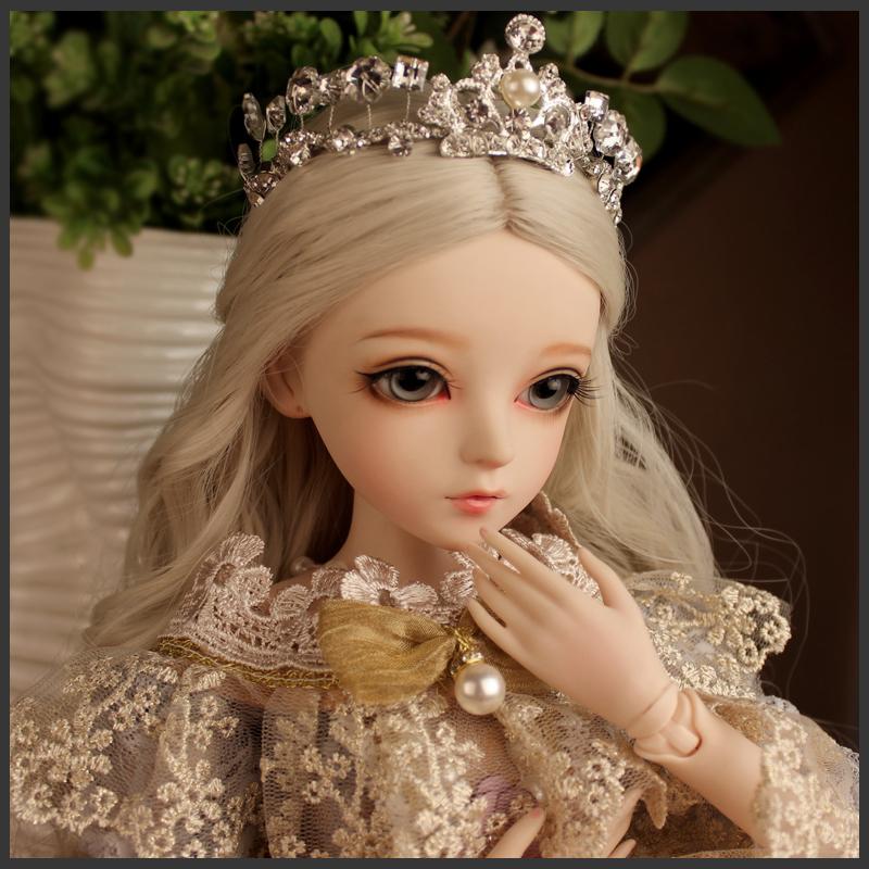 包邮多丽丝凯蒂改妆手工洋娃娃bjd送女孩儿童创意玩具公主套装