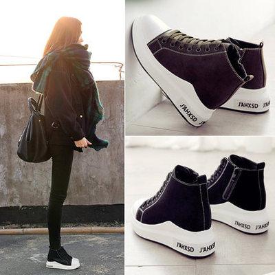秋季内增高休闲鞋
