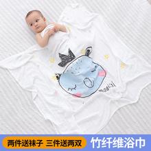 宝宝纱布空调被两层纯棉竹纤维新生儿童盖毯盖被 婴儿浴巾夏季薄款图片