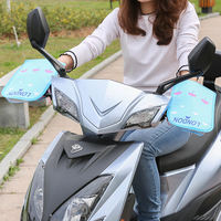 Electric motorcycle sunscreen gloves summer battery car tram windshield UV protection waterproof summer thin section