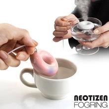 韩国原装FOGRING甜甜圈加湿器随身迷你超声波杀菌静音空气便携
