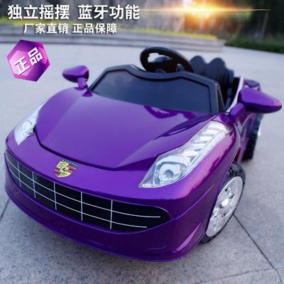 儿童电动带遥控四轮汽车宝宝双驱玩具男女童车小孩可坐保时捷新款性价比高吗