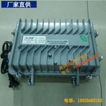 SC电单纤收发器光电转换器一光八电光纤收发器光电转换器8光1百兆