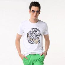 3件69 品牌剪标男装印花短袖t恤海家尾货韩版潮牌纯色文字体恤