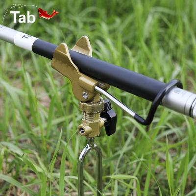 Tab钓鱼竿支架手竿架杆架竿多功能万向炮台地插海杆垂钓渔具用品