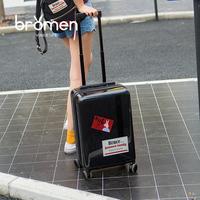 不莱玫20寸拉杆箱万向轮大学生行李箱女24寸潮登机箱韩版旅行箱男