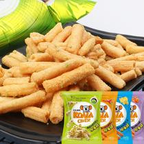 马来西亚进口厚毅牌香蕉牛奶味三角饼干婴幼儿辅食休闲零食品