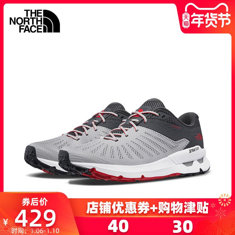 TheNorthFace北面登山鞋男夏季戶外運動鞋徒步鞋透氣越野跑鞋3FY5