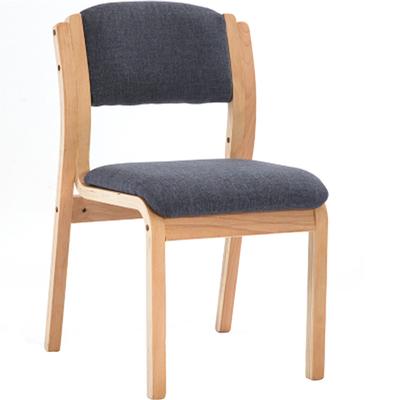 特价实木曲木餐椅家用简约现代无扶手布艺书桌酒店椅电脑椅休闲椅新品特惠