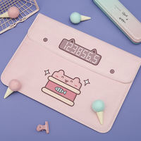 Halodtudio liner bag apple millet ipad laptop bag clamshell pink cute protective cover