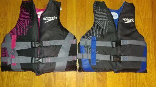 代购Speedo儿童救生衣 男女专业浮力浮水游泳装备黑色背心