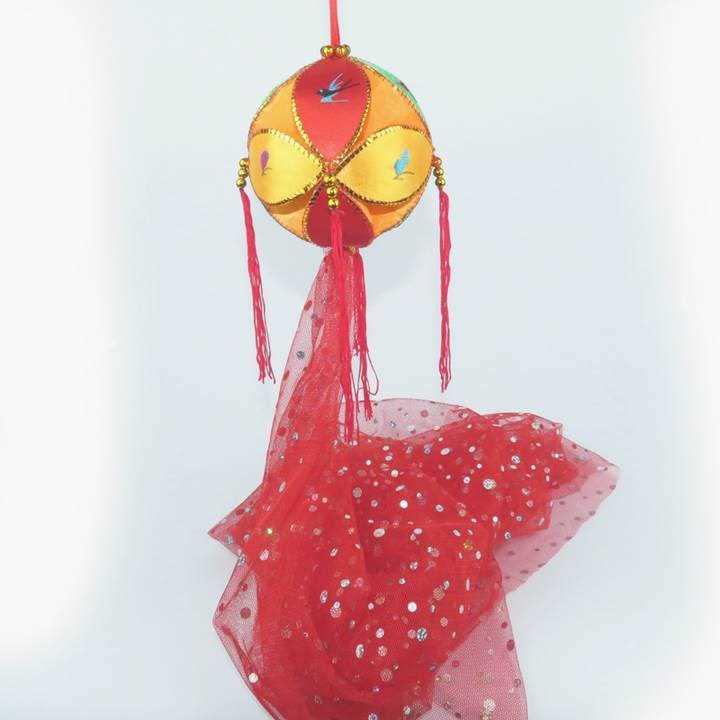 绣球女旧州舞蹈道具百色绣球8cm广西绣球靖西壮族绣球纯手工抛