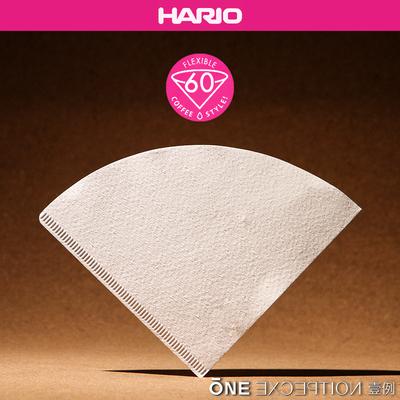 HARIO 手冲咖啡滤纸 日本原装进口正品 V60系列滴漏式过滤纸 VCF