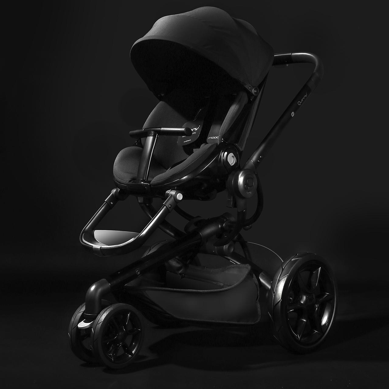 Quinny moodd婴儿推车 高景观可坐可躺 折叠宝宝手推车双向 0-3岁