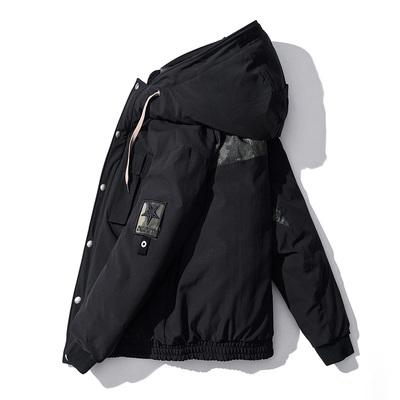 反季羽绒服男短款新款青少年韩版正品加厚男士冬季潮蒙口运动外套