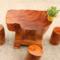 特价根雕茶桌组合配木墩整套茶台小号阳台休息泡茶平桌子茶海1957