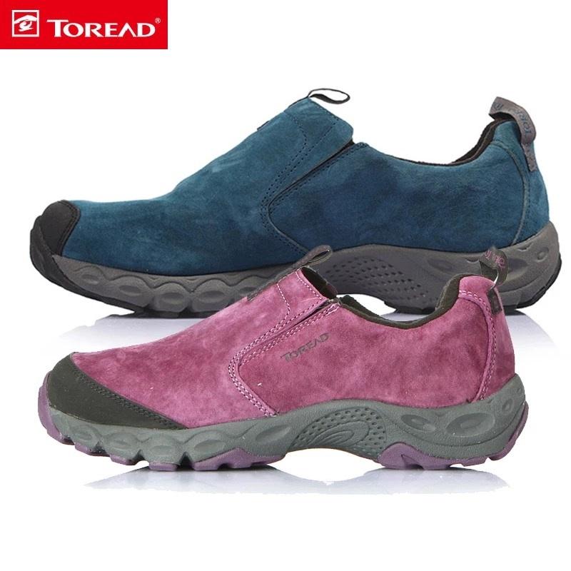 探路者女鞋营地鞋