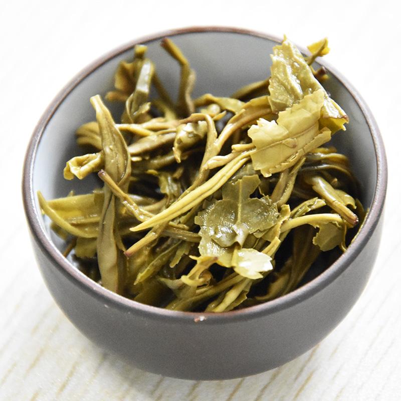 60g 新茶高山茶叶霍山黄茶自饮散装口粮茶和玉黄单罐 2017 汉唐清茗