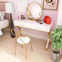 风ins化妆台北欧简约现代迷你化妆桌卧室小户型经济型欧式梳妆台