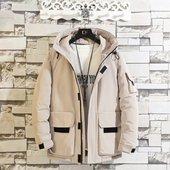 战地吉圃棉衣男士外套冬季新款加厚冬装男生棉袄短款工装休闲棉服